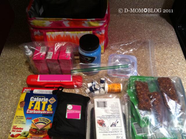 Diabetes Kit at School