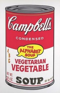 Warhol Vegetable Soup