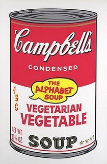 Warhol Vegetable Soup