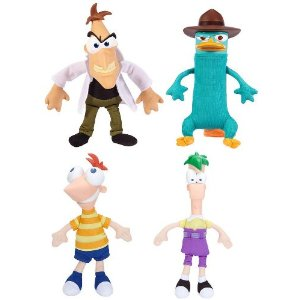 Phineas and Ferb Gabble Heads