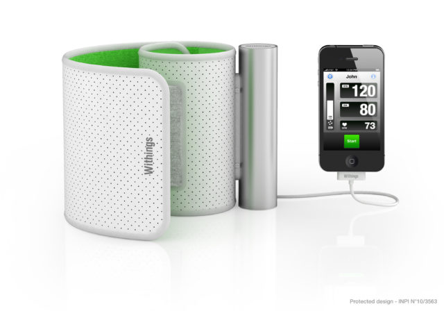 iPhone Blood Pressure Cuff