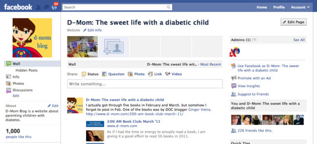 D-Mom FB 1000 Likes