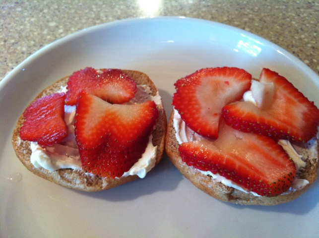 Strawberry Bagel