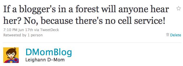 Forest Tweet