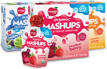 Revolution Foods Mashups