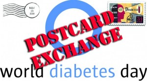 World Diabetes Day Postcard