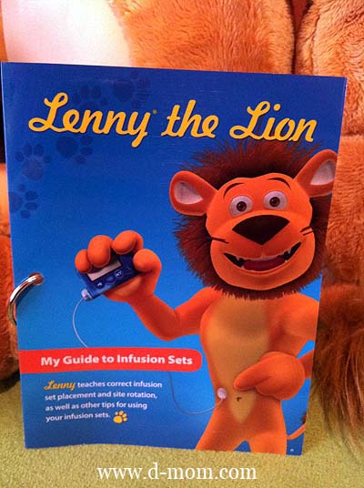 Medtronic Artificial Pancreas >> Lenny the Lion • D-Mom Blog