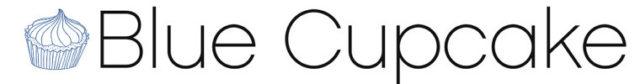 Blue Cupcake Logo