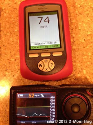 Low Blood Sugar Dexcom G4