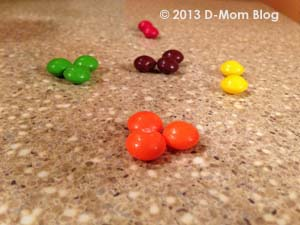 Low Blood Sugar Skittles