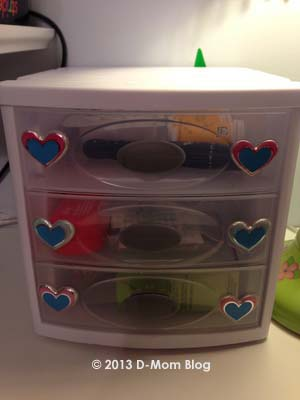 Diabetes Supplies Organizer