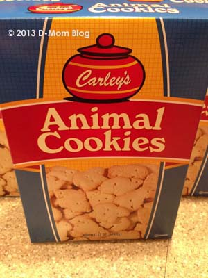 Carley's Animal Cookies