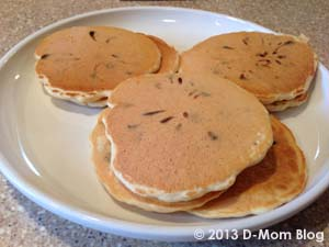 r Chocolate Chip Pancake Mix