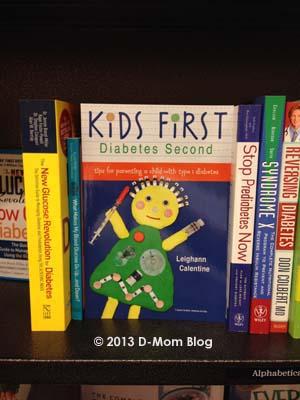 Kids First, Diabetes Second Book
