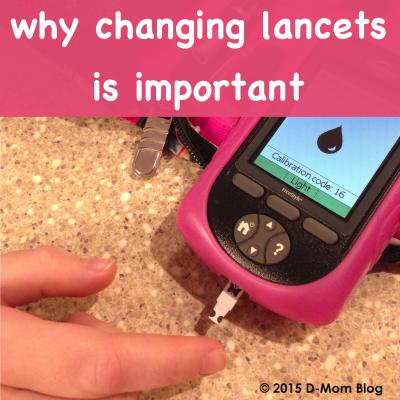 Changing Lancets
