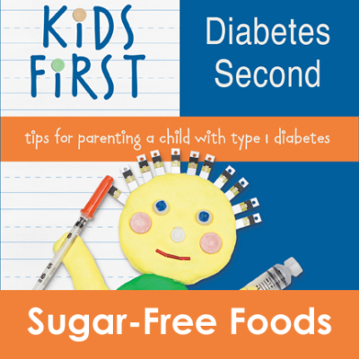 Kids First Diabetes Second Book - Sugar-Free Foods