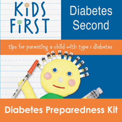 Kids First Diabetes Second Book - Preparedness Kit