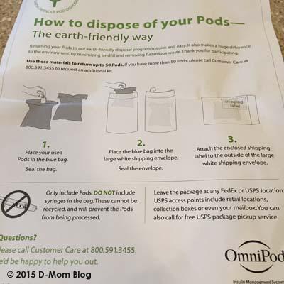 OmniPod Recycling