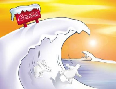 Cocal Cola Polar Bear
