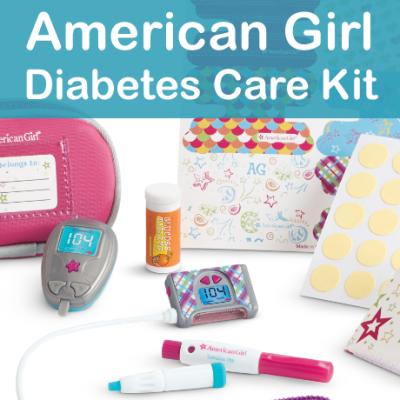 American Girl Diabetes Care Kit