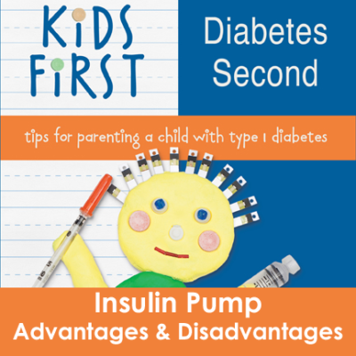 Kids First Diabetes Second Book Insulin Pump