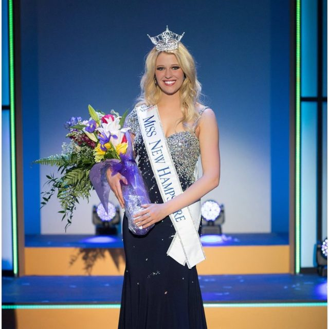Miss New Hampshire Caroline Carter