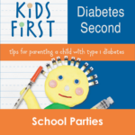 Kids First Diabetes Second Book School Parties
