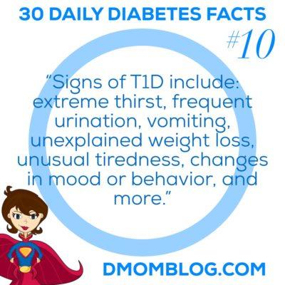 Diabetes Awareness Month Day 10