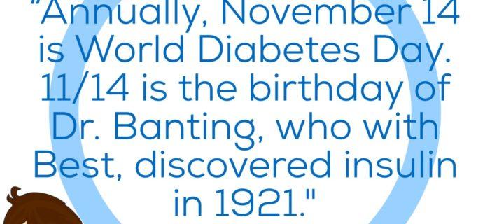 Diabetes Awareness Month: Day 14