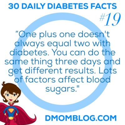 Diabetes Awareness Month Day 19
