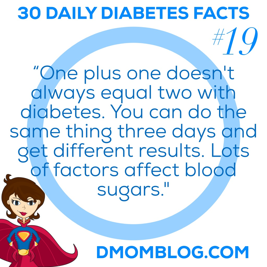Diabetes Awareness Month Day 19