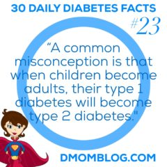Diabetes Awareness Month: Day 23