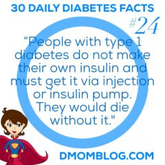 Diabetes Awareness Month: Day 24