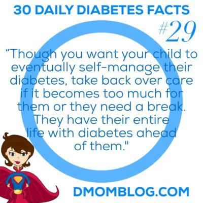 Diabetes Awareness Month Day 29