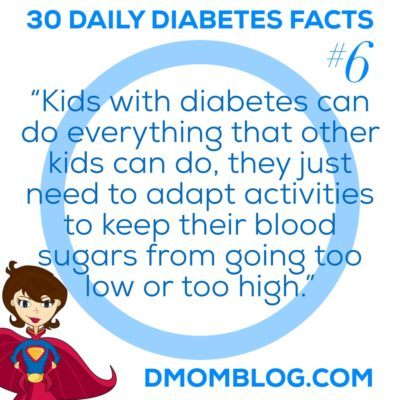 Diabetes Awareness Month Day 6