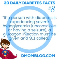 Diabetes Awareness Month: Day 8