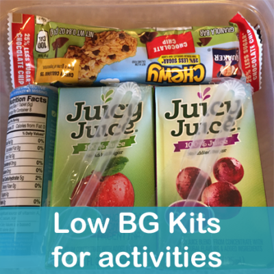 Low Blood Sugar Kits