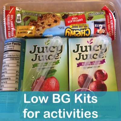 Low Blood Sugar Kits