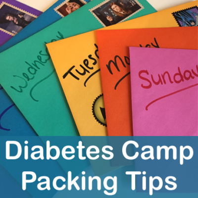 Diabetes Camp Packing Tips