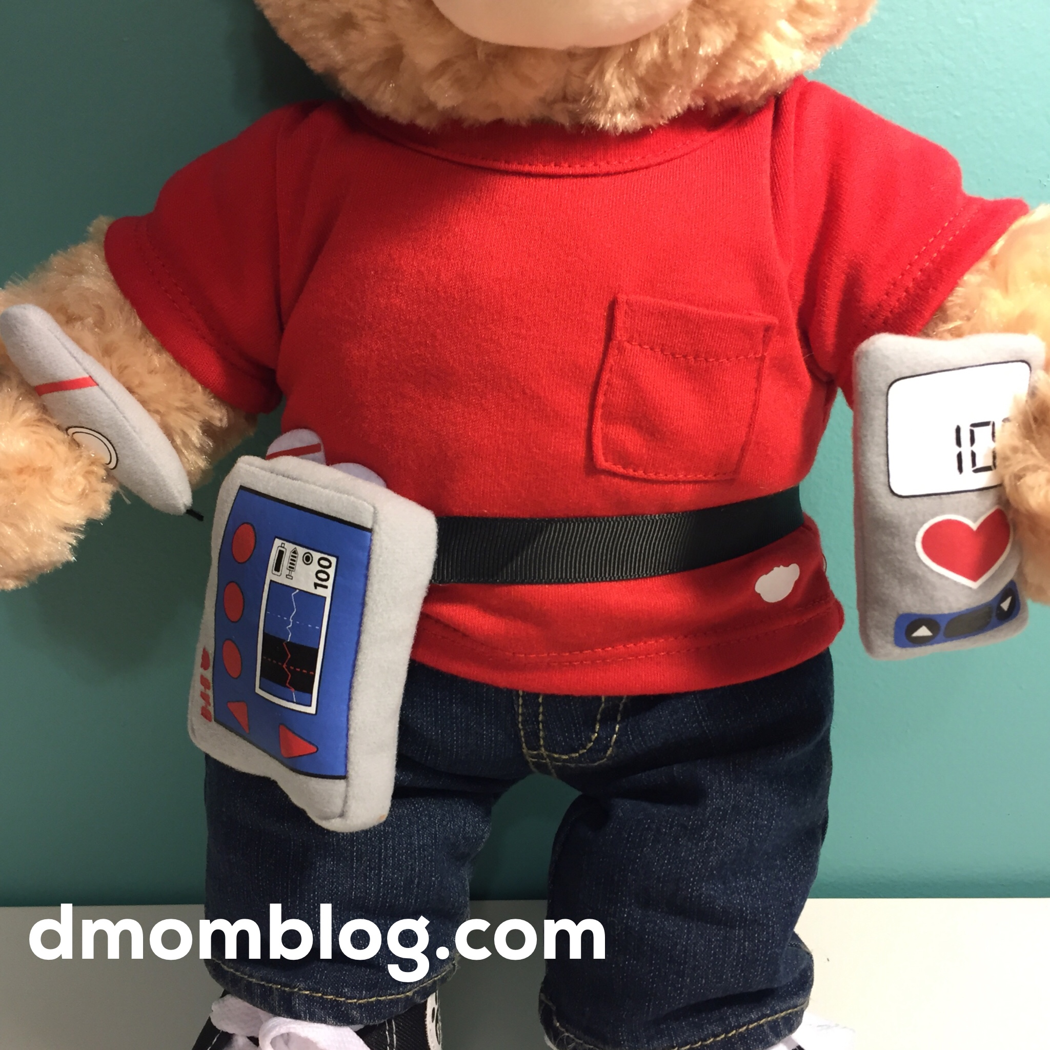 Build A Bear Diabetes Kit An Insulin Pump For Your Wrist Red Disclosure Sent Us And Happy Hugs Review Consideration I Was Not Compensated All Opinions Are My Own
