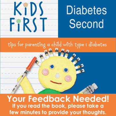 Kids First Diabetes Second Book Feedback