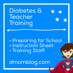 Type 1 Diabetes and Teacher Training