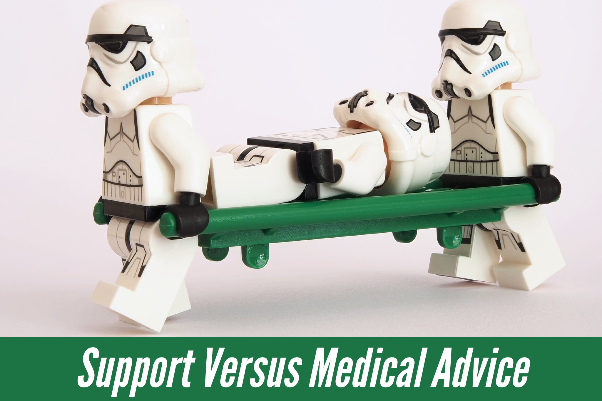support medical advice